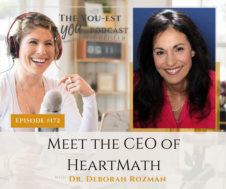 Dr. Deborah Rozman gives great insight into the need to calm our minds, ease our stress, and get into the coherent rhythms of the heart.