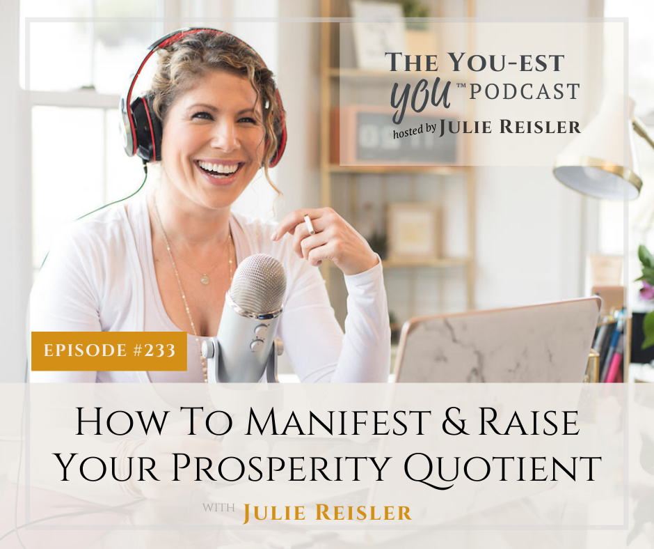 During this episode I explain what your prosperity quotient is and how we are able to feed ourselves the positive energy we need to prosper.